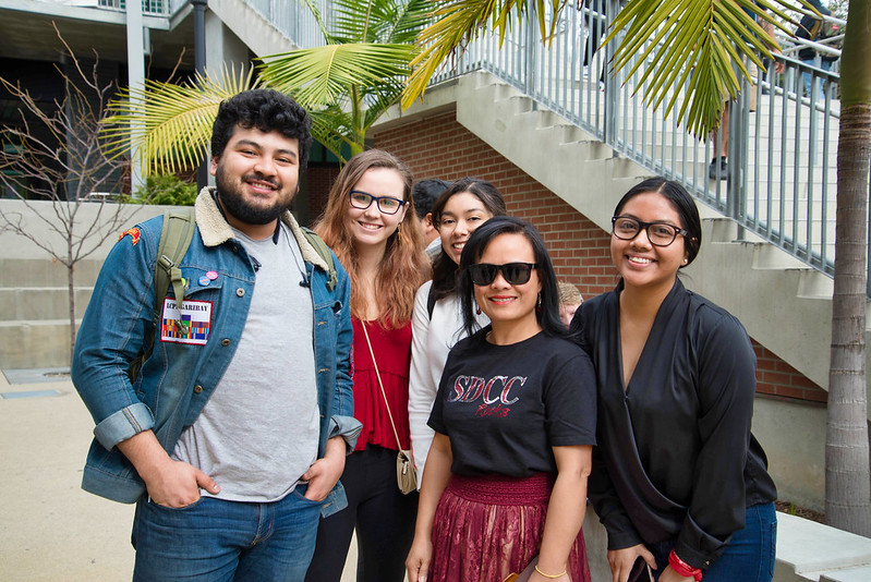 Photo of San Diego City College folks