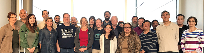 Photo of physical sciences department