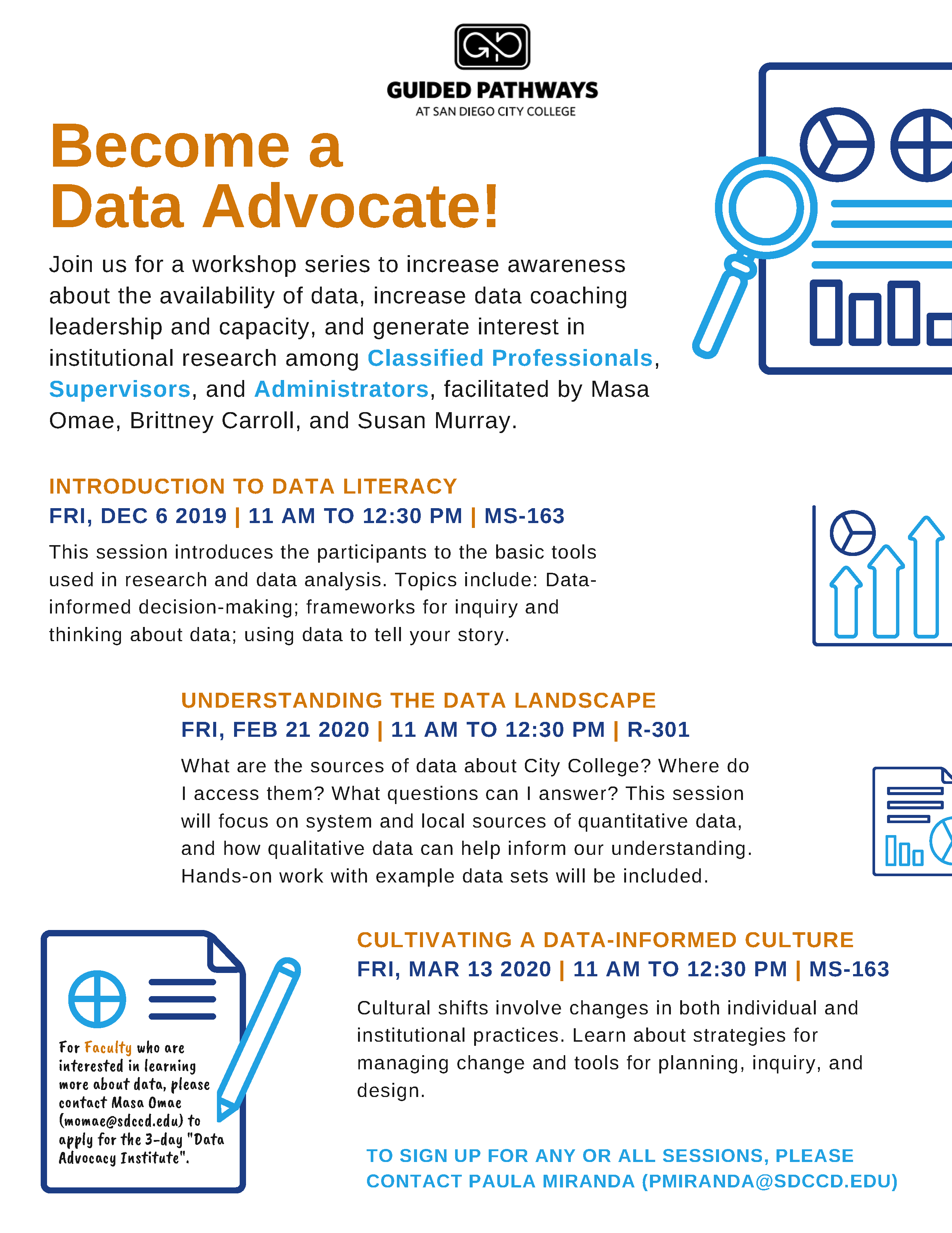 Flyer - Data Advocacy Workshops