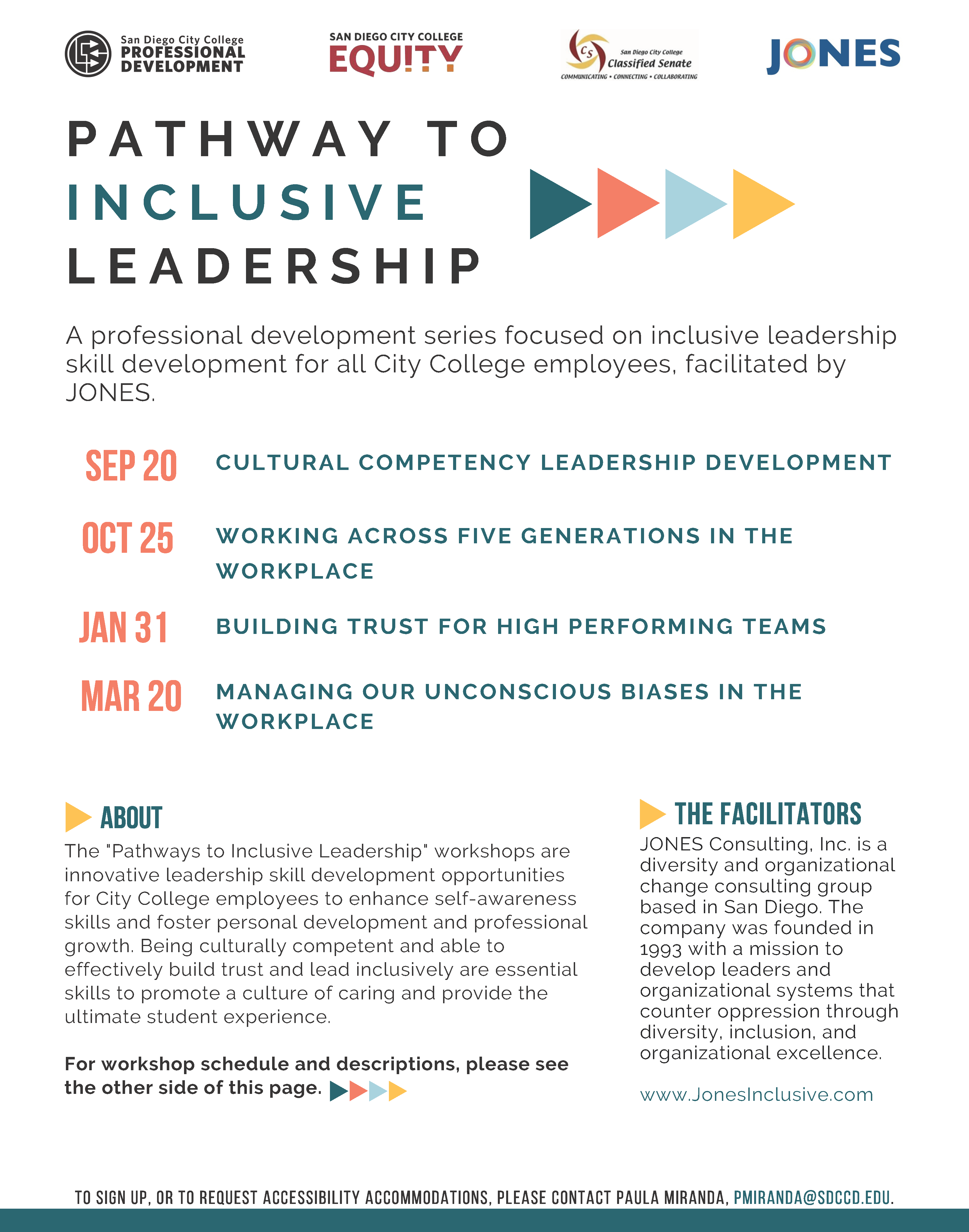 Flyer - Pathway to Inclusive Leadership