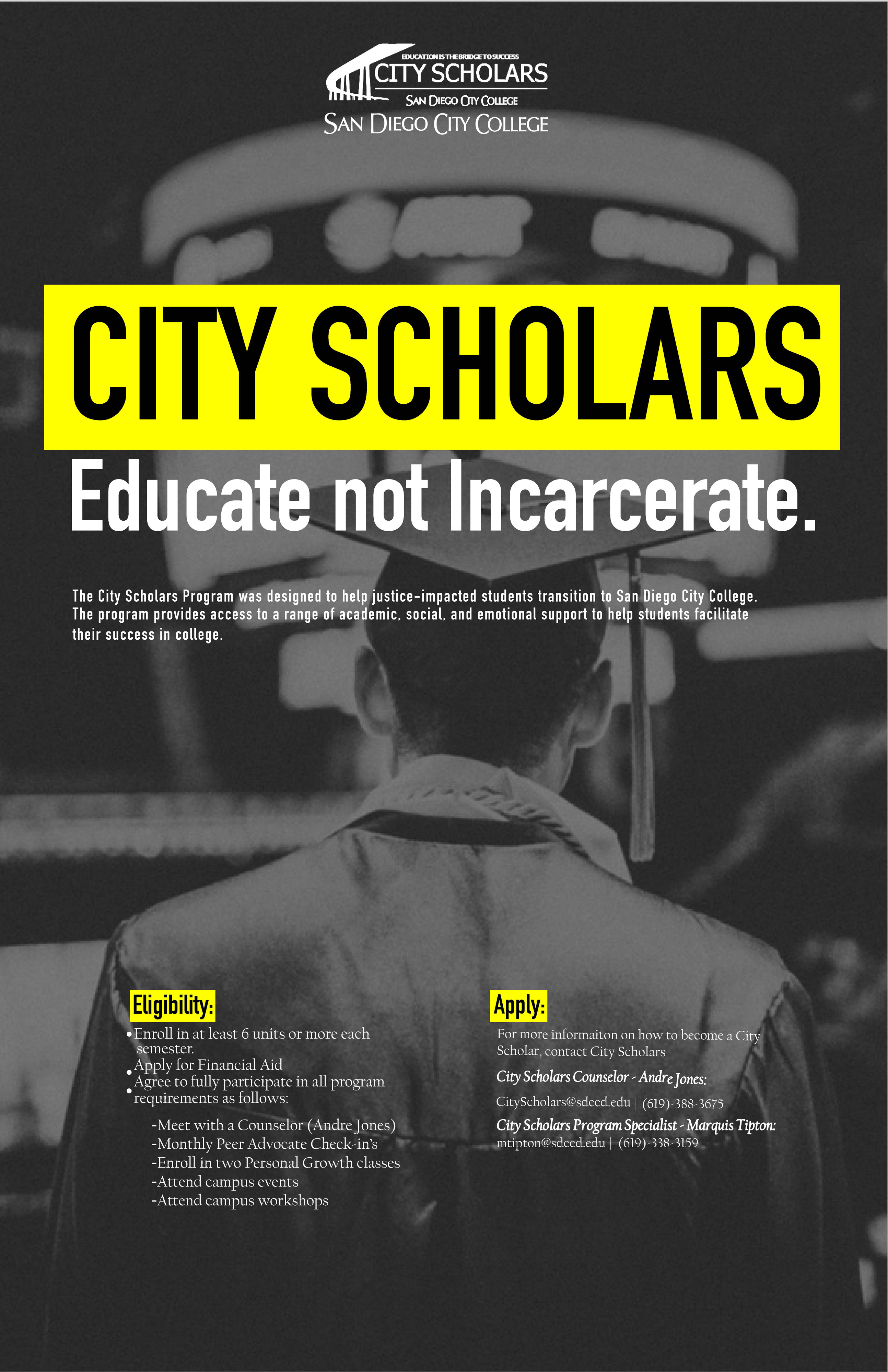 Image of City Scholars Poster