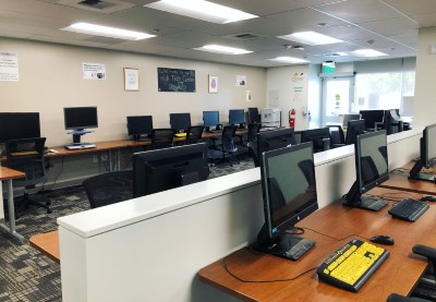 High Tech Center Lab Inside View